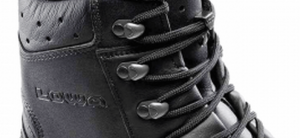 Lace up boots with Quick Hook system